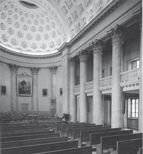 Interno dell'Aula Magna dell'Università di Pavia
