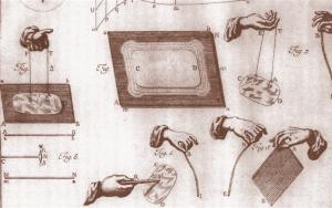 """Esperimenti sull'""""elettricità vindice"""" (da Experimenta ...electricitas... vindex ... di Giovanni Battista Beccaria, 1769)"""