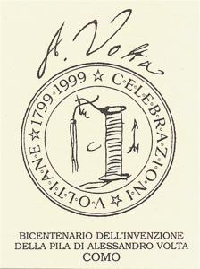 Logo del Comitato promotore di Como per le Celebrazioni Voltiane