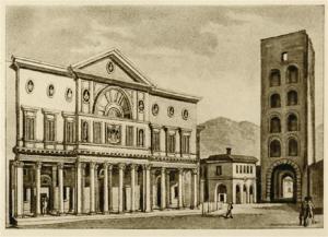 Il Collegio dei Gesuiti, poi Liceo Volta, a Porta Torre, Como