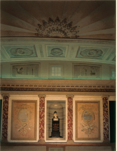Busto di Volta, Università di Pavia