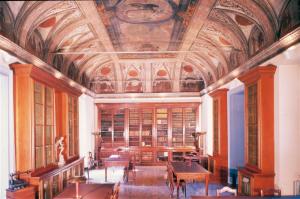 Sala di lettura dell'Istituto Lombardo, Milano