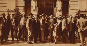 Foto di gruppo del Congresso internazionale dei Fisici, 1927