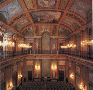 Salone d'onore di Villa Olmo, principale sede dei Convegni organizzati dal Centro Volta