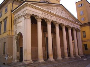 Aula Magna dell'Università di Pavia. Foto di Giorgio Gonnella