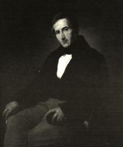 Alessandro Manzoni (1785-1873) - ritratto di F. Hayez del 1841