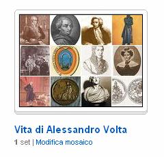 La raccolta di immagini sulla vita di Alessandro Volta