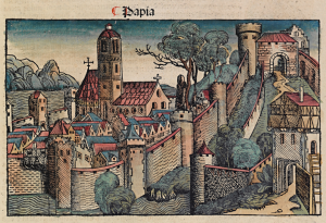 "Pavia dalle ""Nuremberg Chronicle"""