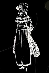 Un abito dell'epoca