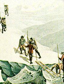La salita al Monte Bianco