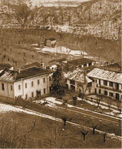 La Villa Volta di Campora a Camnago (fotografia d'archivio)