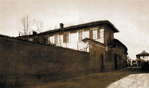 Veduta della Casa Volta a Campora di Camnago