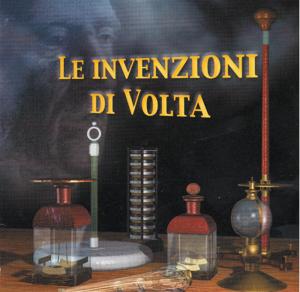 """Schermata del CD-ROM """"Le invenzioni di Volta"""""""