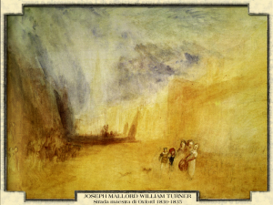 Joseph Mallord William Turner - Strada maestra di Oxford, 1830-1835