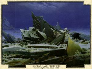 Caspar David Friedrich - Il mare di ghiaccio, 1823-1824