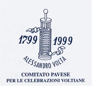 Logo del Comitato promotore di Pavia per le Celebrazioni Voltiane