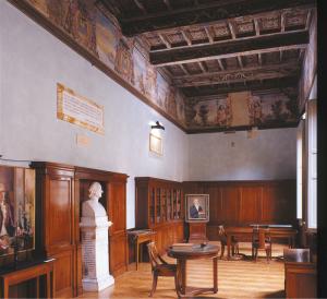 La Sala Volta a Palazzo Landriani, nuova sede dell'Istituto Lombardo