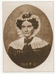 Donna Teresa Peregrini, moglie di Alessandro Volta