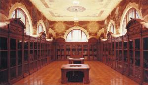"""La Sala Casartelli (o """"dei Nobel"""") all'Istituto Carducci di Como"""