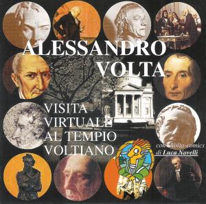 """Il CD-ROM """"Alessandro Volta: visita virtuale al Tempio Voltiano"""""""