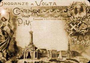 Una cartolina commemorativa delle Celebrazioni del 1899