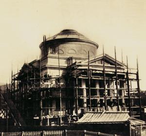 Il Tempio Voltiano quasi ultimato