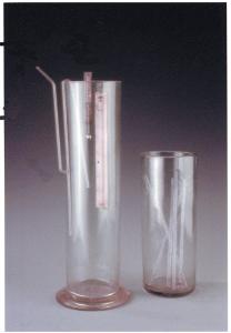 Termometro per lo studio della dilatazione dell'aria (Tempio Voltiano, Como)