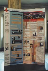 Pannello 4 dell'edizione italiana della Mostra itinerante su Volta